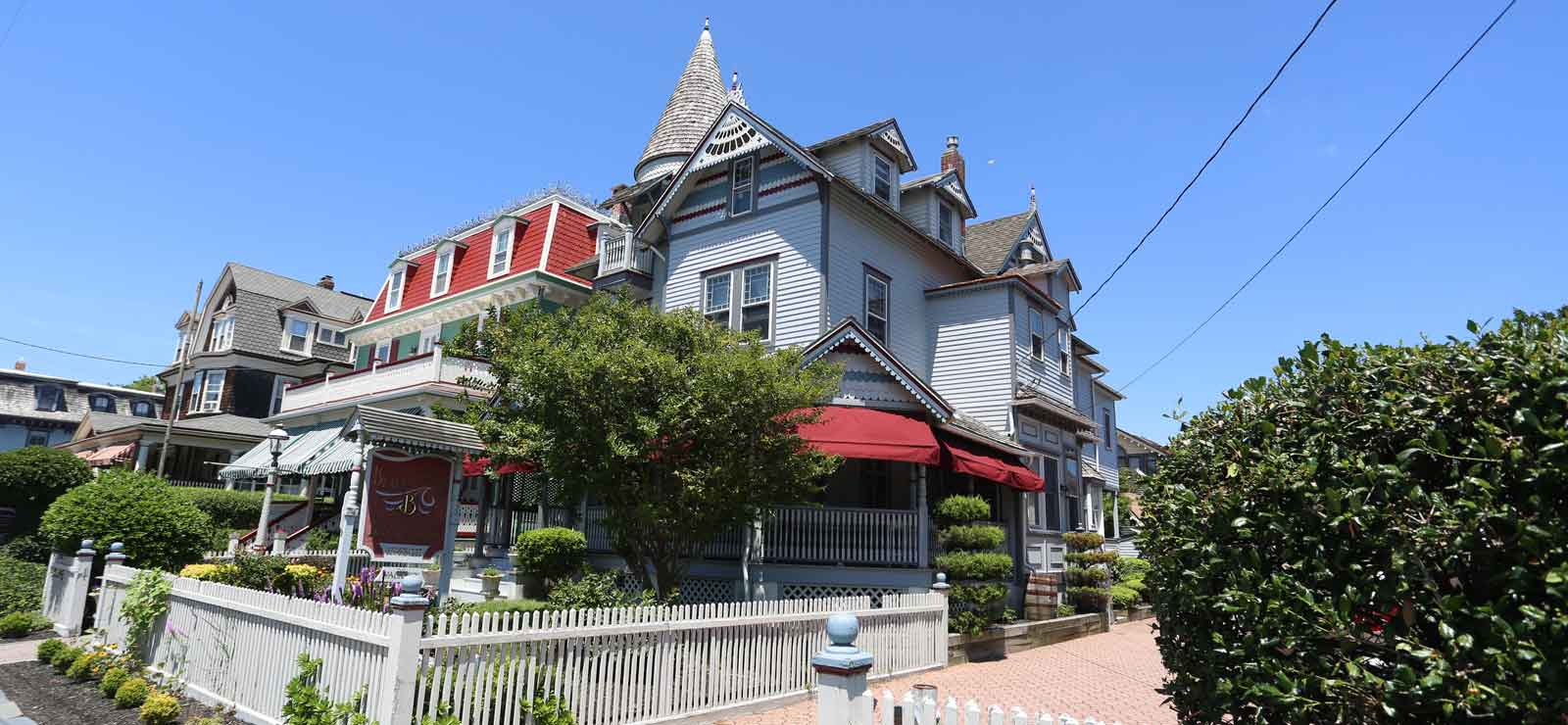 A Bed & Breakfast Just Steps from Cape May Beaches